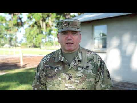 143d ESC Command Chief Warrant Officer Never Shares His Role As The CCWO