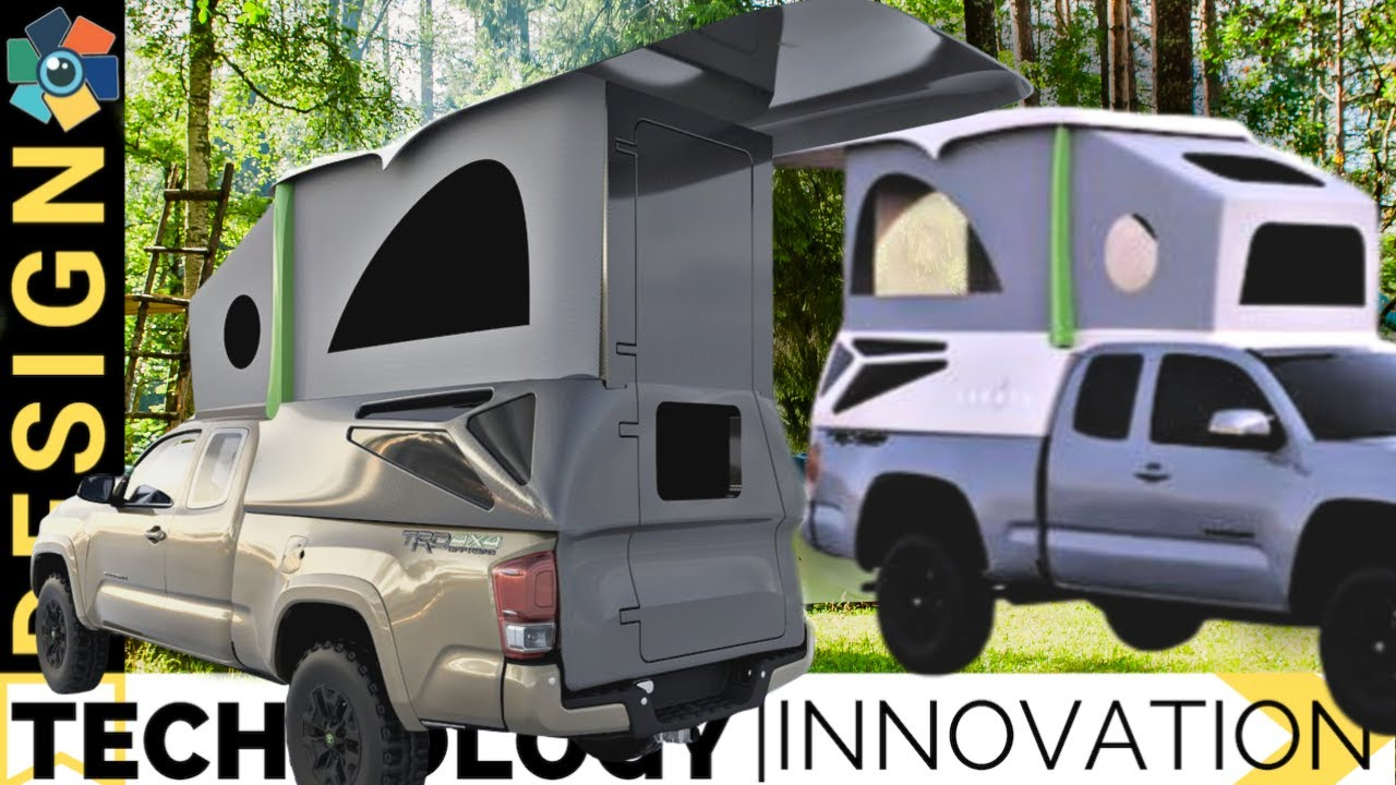 10 Awesome Truck Bed Campers For Your Outdoor Adventures Youtube