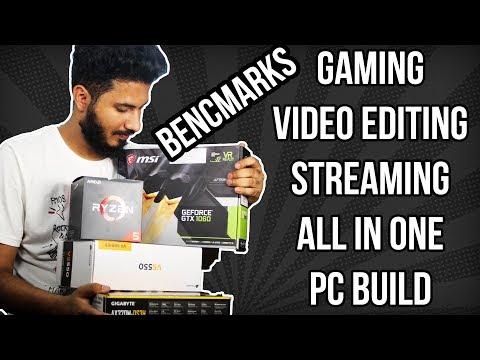 Rs.50000 - Rs.60000 Gaming, Productivity & Streaming PC Build India 2018 [HINDI]