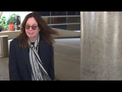 Ozzy Protests Questions About Political Candidate Donald Trump