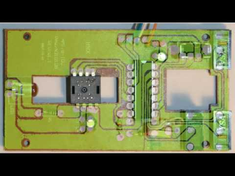 pcb mouse circuit reversing youtube rh youtube com optical mouse circuit diagram optical mouse circuit board diagram