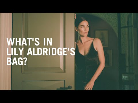Lily Aldridge's favorite beauty products for fall