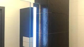 Мебель в ванную. Мойдодыр, зеркало и пенал(Более подробно о данной мебели на нашем сайте http://amado.in.ua/, 2016-01-21T15:30:38.000Z)