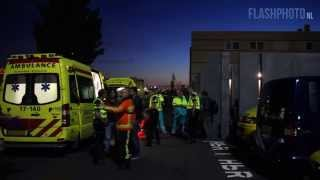 7 gewonden op schip door giftige stof - Oude Maasweg Rotterdam