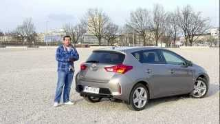 (ENG) Toyota Auris / Corolla 1.6 CVT - Review and Test Drive