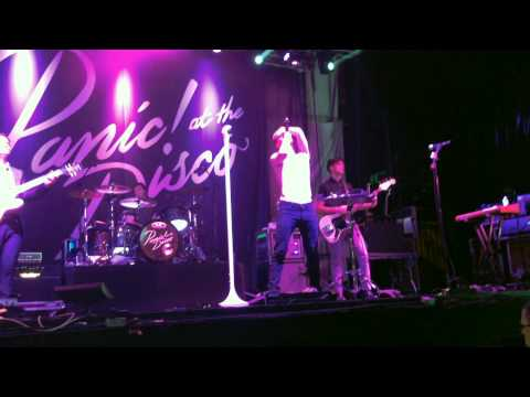 Panic! At the Disco 8/10/13 at Jannus Live! Tampa, FL