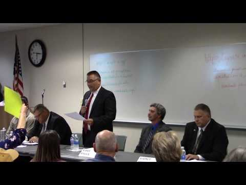Dunn County Sheriff Forum