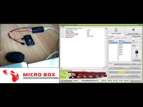 LG KP100 Read Unlock Codes with Micro-Box