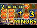 HIGH LIMIT Ultimate Fire Link North Shore (2) HANDPAY JACKPOTS $50 Max Bet Bonus Slot Machine Casino