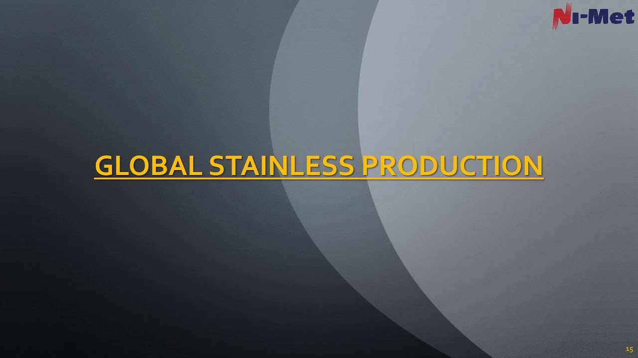 STAINLESS SCRAP A GLOBAL PERSPECTIVE - MIAMI 2016