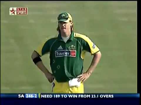 World Record 438 Run Match South Africa vs Australia