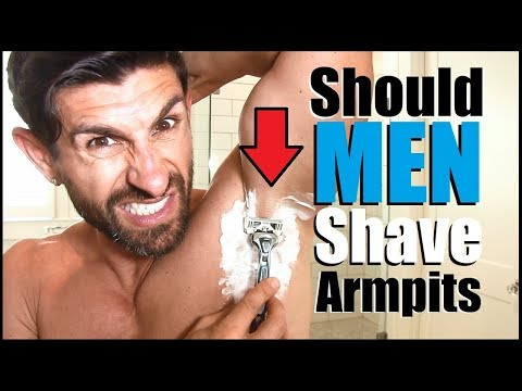 Should Guys Shave or Trim Their Armpits???