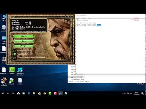 Age Of Mythology + The Titans Expansion Install Instructions Windows 10 Gold Edition