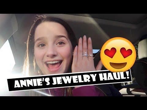 Annie's Jewelry Haul 😍 (WK 373.6) | Bratayley