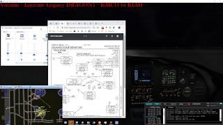 Vatsim KMCO - KIAH Full ATC Event - LEG2