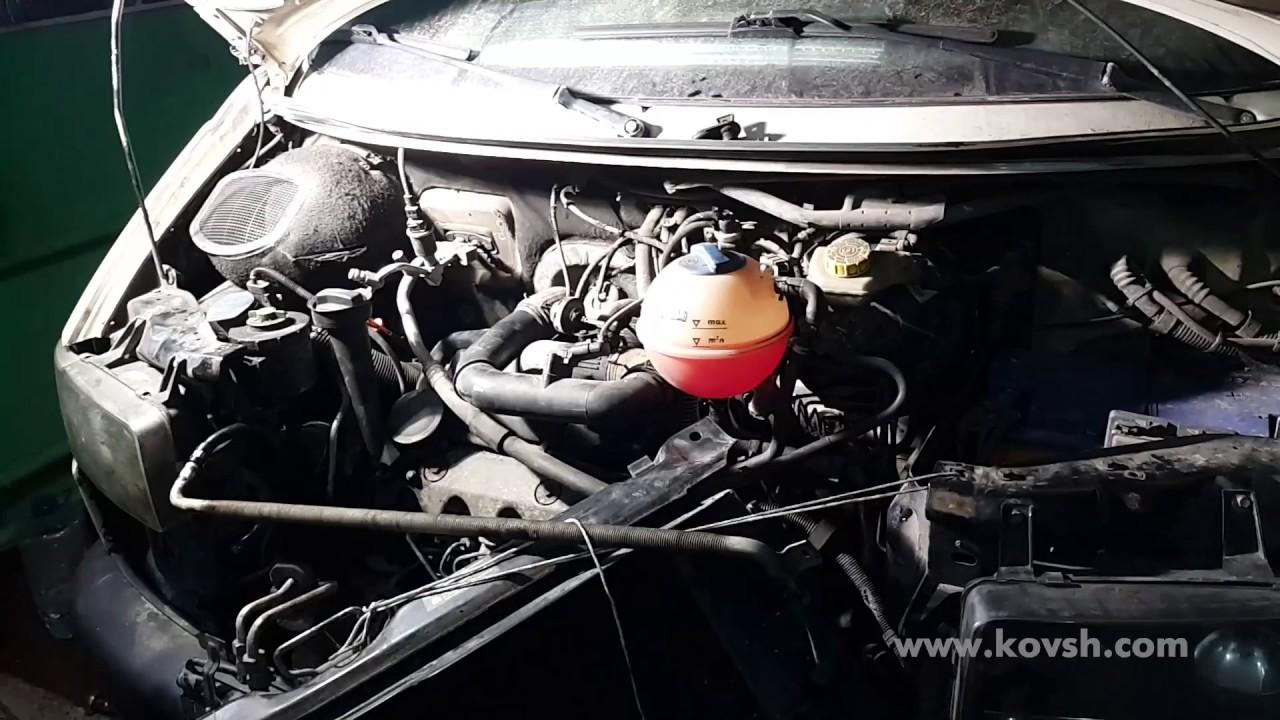 Симптомы неисправной централизации ТНВД VW Transporter T4 2.5TD