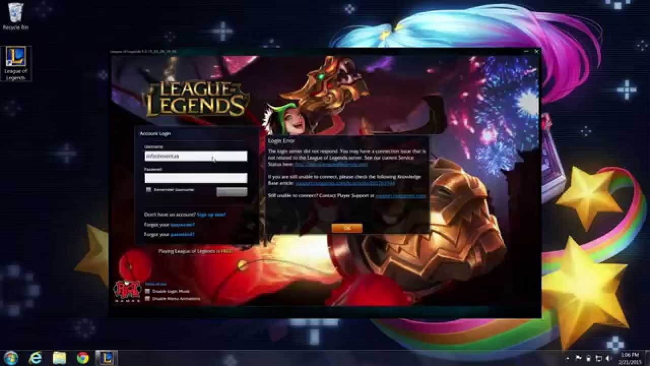 Unblocking Firewalls - League of Legends Player Support - YouTube