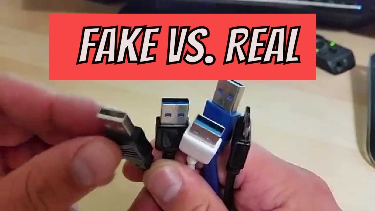 Usb 3 0 Micro B Wiring Diagram Ford Falcon Ba Stereo How Spot Fake Cable Real Vs Youtube