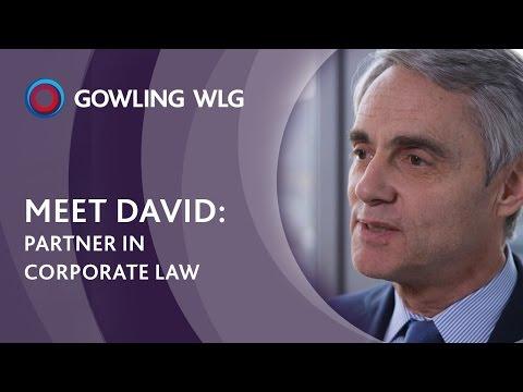 Meet David, Partner in Corporate Law