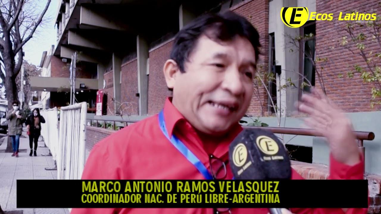 """Argentina: Marco Antonio Ramos (Perú Libre) se defiende de la denuncia en su contra """"es x3nofobia"""""""