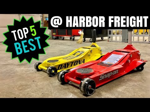 TOP 5 BEST HARBOR FREIGHT TOOLS!! (Automotive)