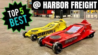 TOP 5 BEST HARBOR FREIGHT TOOLS!! (Automotive)