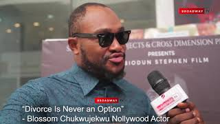 Blossom Chukwujekwu Finally Speaks On Divorce