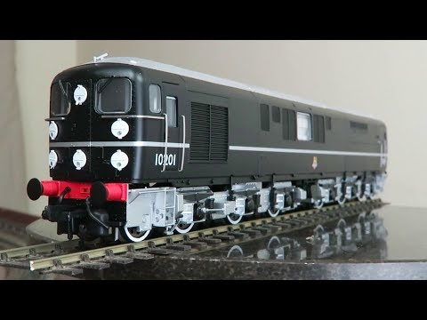 Bulleid Class D16_ 2  1co co1 diesel locomotive by Kernow model rail centre