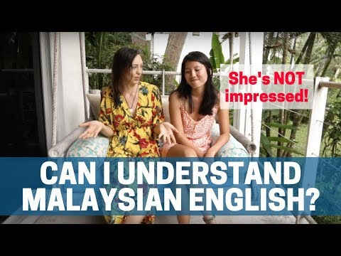 Malaysian English is... Different