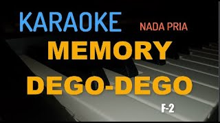 "KARAOKE MANADO ""MEMORY DEGO DEGO"" F-2 (KEYBOARD)"