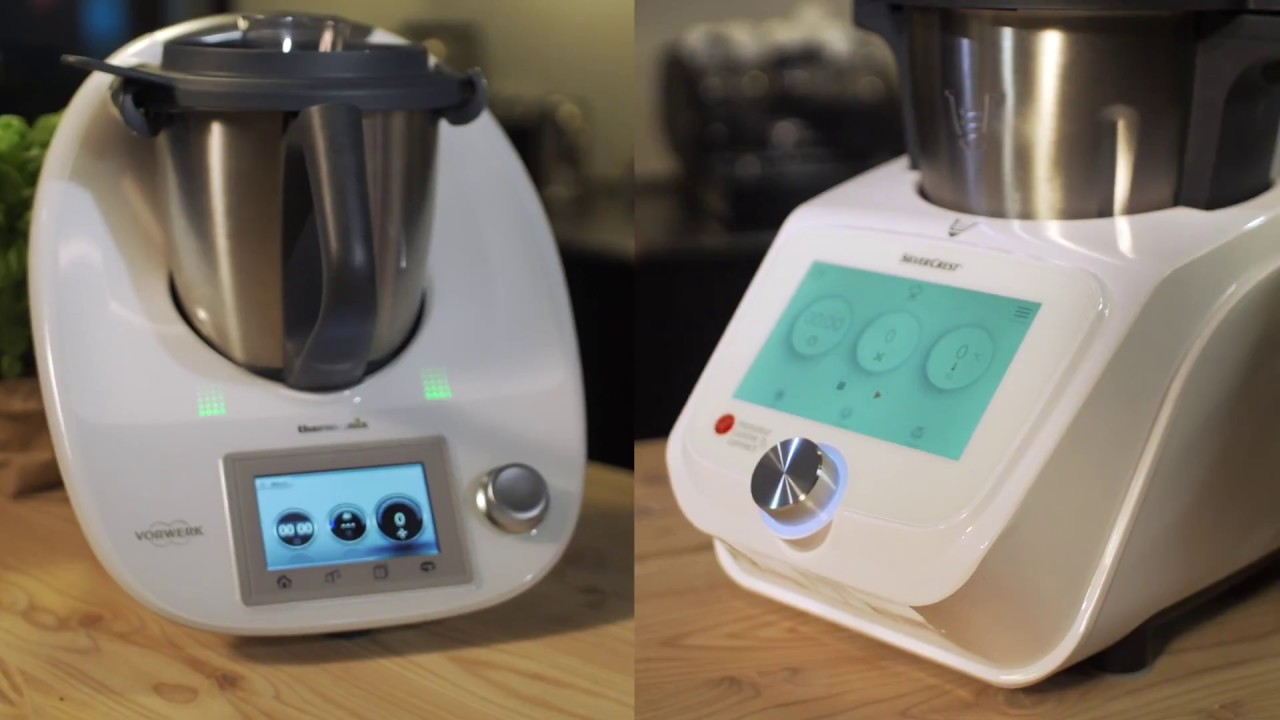 Guided Cooking Test Thermomix Vs Monsieur Cuisine Connect Youtube
