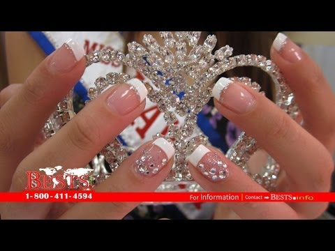 Custom Nail Design For Hawaii Pageant Contestants The Nailery