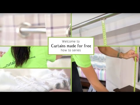 Hanging your Pencil Pleat curtains- Curtains Made For Free
