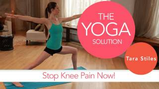 Stop Knee Pain Now | The Yoga Solution With Tara Stiles