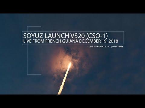 [LIVE] Soyuz launch VS20 (CSO-1)