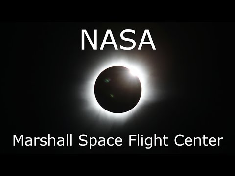 Solar Eclipse, From NASA Marshall Space Flight Center (MSFC)