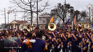 Edna Karr High School Marching Band - KK Intro/Clips & Choppers - 2018