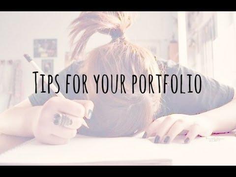 Tips On Making A Fashion Art Portfolio For University Coppergardenx Youtube