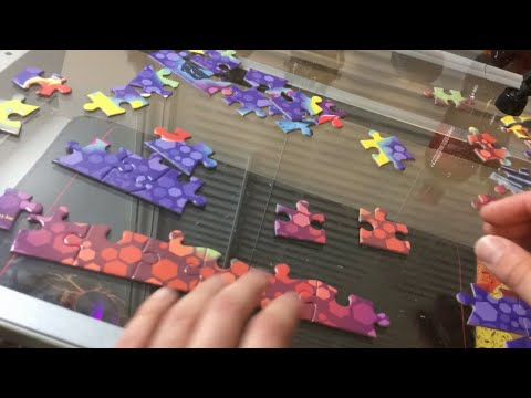 4K Puzzle Timelapse with Beautiful Music...