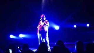 """Falling Down"" by Nick Carter live in Columbus OH 2-12-12"
