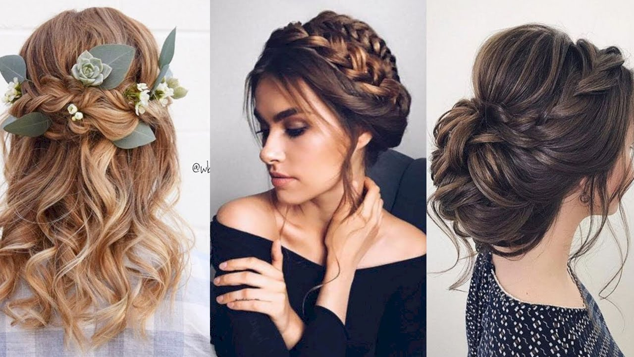 12 Beautiful Prom Hairstyles Ideas 2020 Trendy Hair By Professional Hair Beauty Youtube