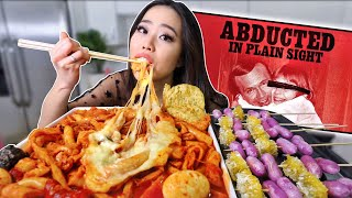 NEW! CHEESY SPICY RICE CAKES + HONEYCOMB RICE CAKES MUKBANG 떡볶이 먹방 | Eating Show