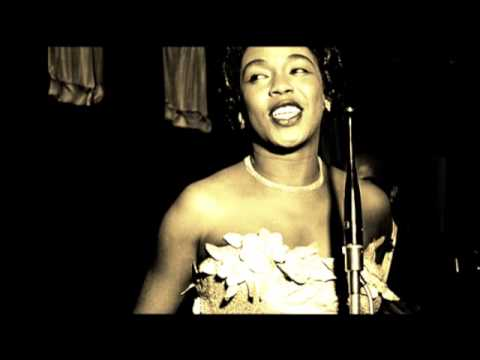 Sarah vaughan you stepped out of a dream