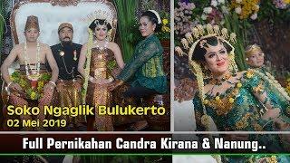 Gambar cover PERNIKAHAN CANDRA KIRANA & NANUNG ( Pernikahan adat Jawa Basahan )