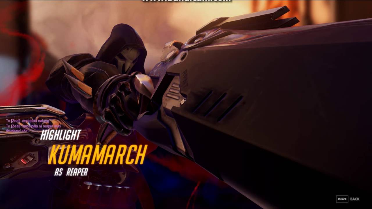 Overwatch - Just a Reaper Highlight #6 Wraith Form pls - YouTube