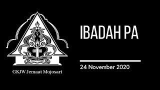 Ibadah PA 24 November 2020 - GKJW Jemaat Mojosari