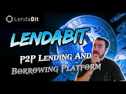 LendaBit - Peer To Peer Cryptocurrency Collateral Lending Platform
