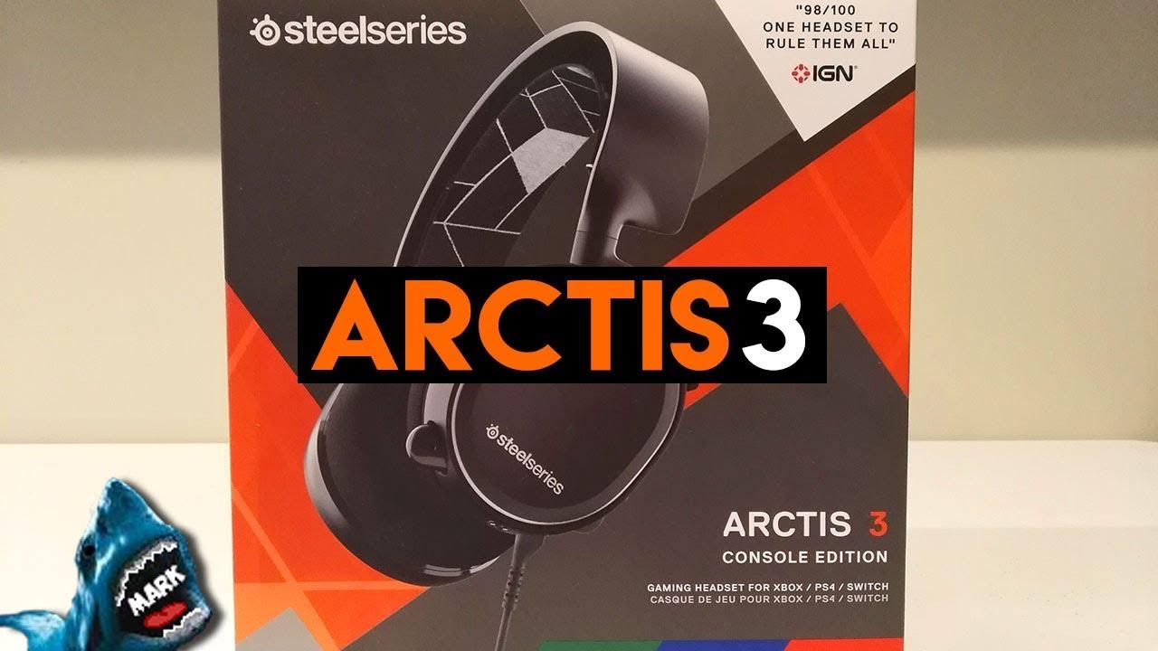 arctis 3 console edition setup ps4
