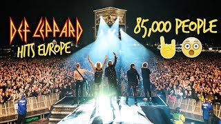 Rocking 85,000 people at Download Festival - Def Leppard Hits Europe
