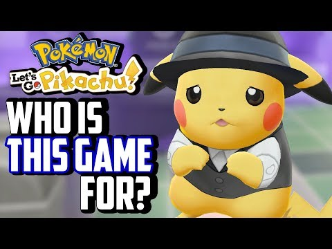 Pokémon Let's Go Pikachu/Eevee Review: Who Is This Game For?